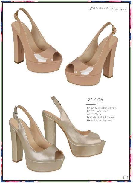 Zapatos Cklass con plataforma para Dama. Zapatos tacon cuadrado, zapatos de moda 2017
