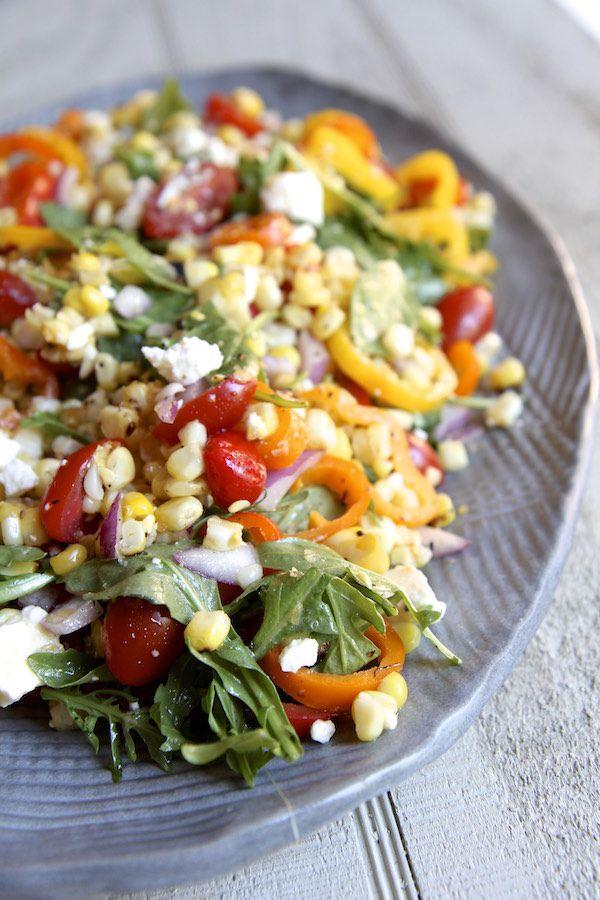 The Italian Dish - Posts - Charred Corn SummerSalad