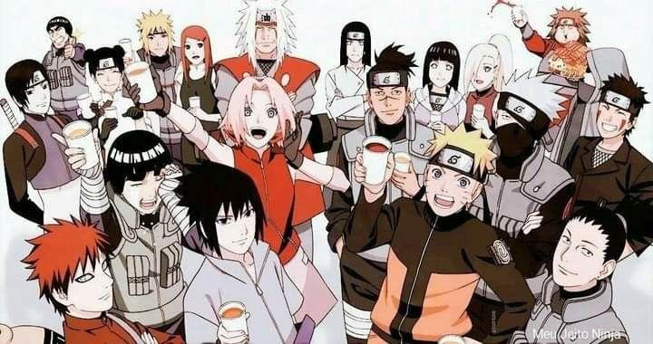 Naruto com seus amigos 🥰 | Otaku anime, Anime estético, Anime naruto