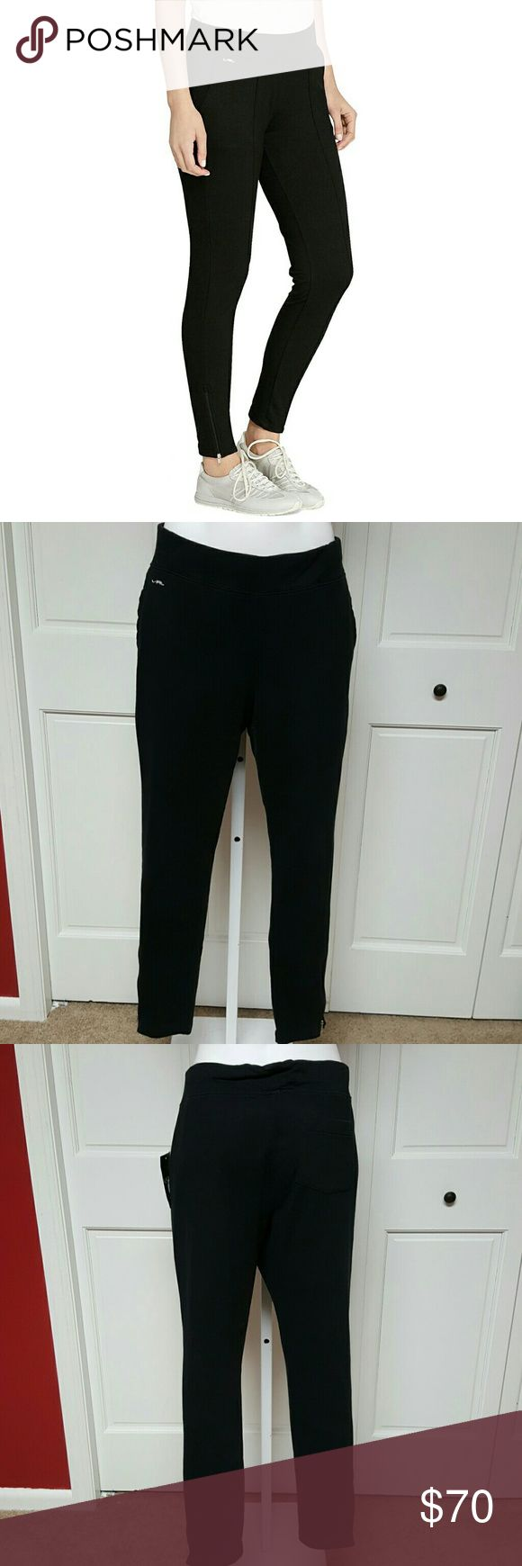"""Lauren Ralph Lauren Active Zip-Cuff Cotton Jegging Lauren Ralph Lauren Active Zip-Cuff Cotton Skinny Legging  Condition: New with tags. A brand-new, unused.  Color: White  Size Type: Regular  Size: Large  Style: White  Brand: Lauren Ralph Lauren  Item description """"Lauren Ralph Lauren Womens Zip-Cuff Skinny Pants. Lauren Ralph Lauren Pants Leggings"""
