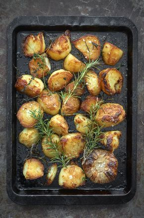 Roast Potatoes recipe by Raymond Blanc