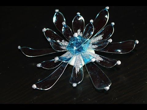 DIY Sintetic resin vitral hairpin by Lidia Pavlikova - YouTube