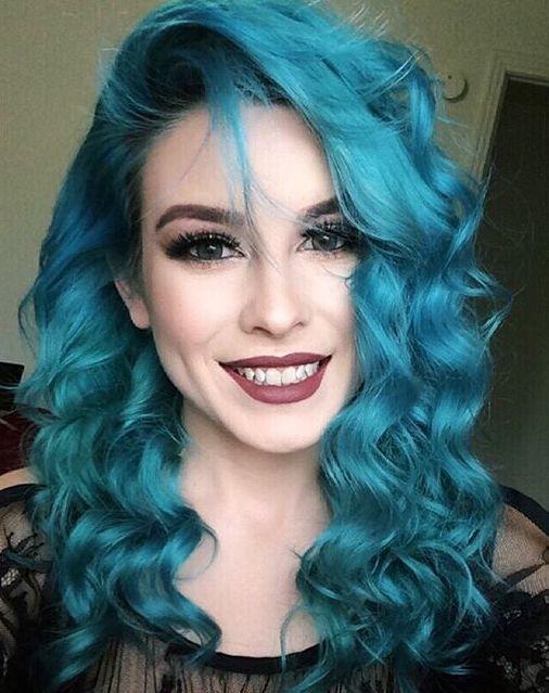 top mermaid blue hair ideas