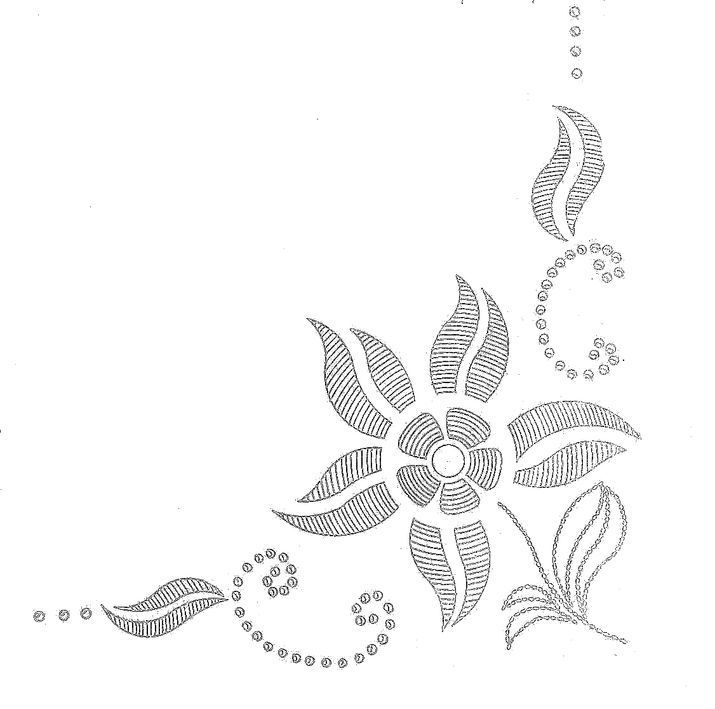 Images about embroidery patterns borders corners