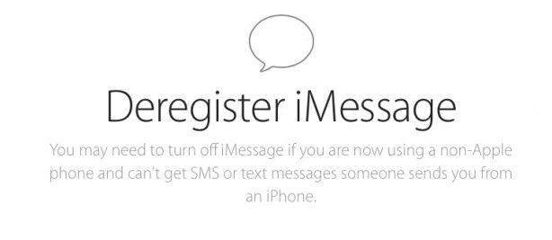 Apple rilascia il tool per cancellare un numero di telefono dal sistema iMessage