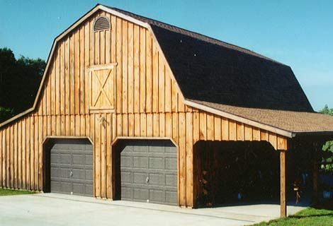 1000 images about gambrel barn with apartment on for Gambrel barn plans with living quarters
