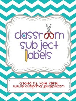 This file includes multicolored chevron subject labels. Math, Reading, Phonics, Writing, Science, and Social Studies. Also, check out my matching Classroom Job Labels and Classroom Supply labels. Thank you!!