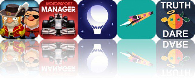 Todays Apps Gone Free: Scurvy Scallywags, Motorsport Manager, Sleep Timer and More
