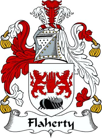 Flaherty Family Crest Search | flaherty clan coat of arms flaherty clan news and events