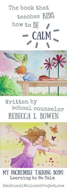 Book that teaches kids how to be calm