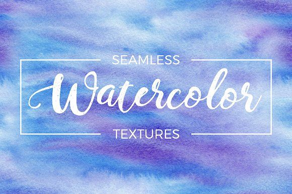 20 Watercolor Seamless Textures by Vik_Tory_Design on @creativemarket