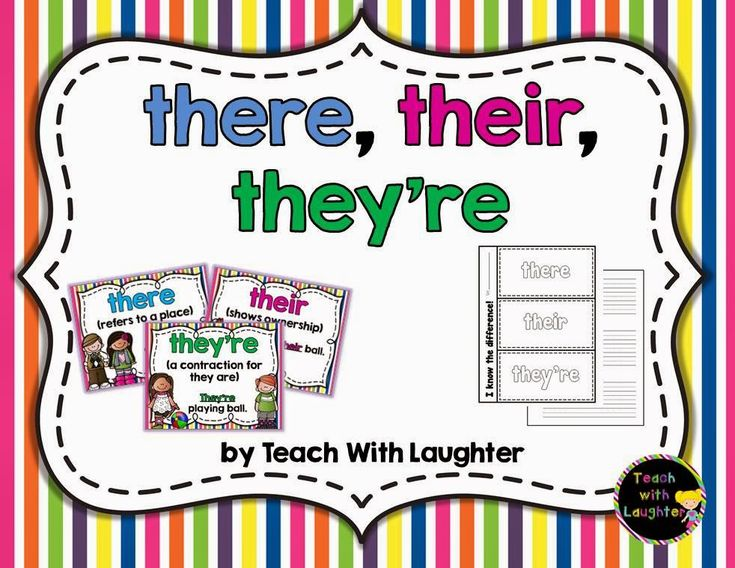 Teach With Laughter: To, Too, Two