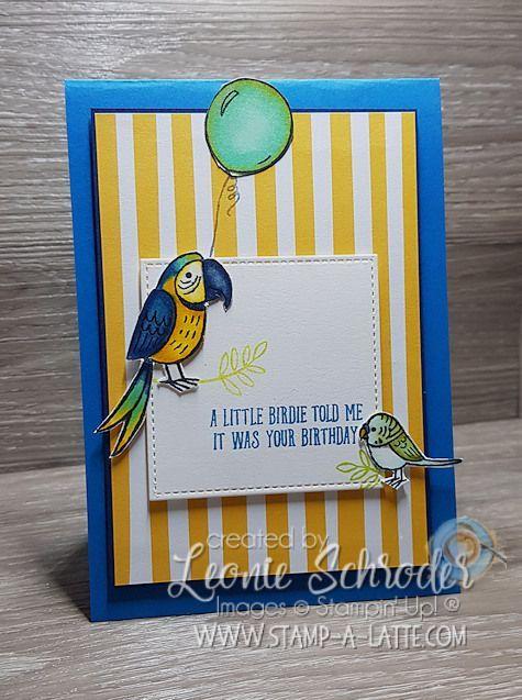 Stampin' Up- Bird Banter