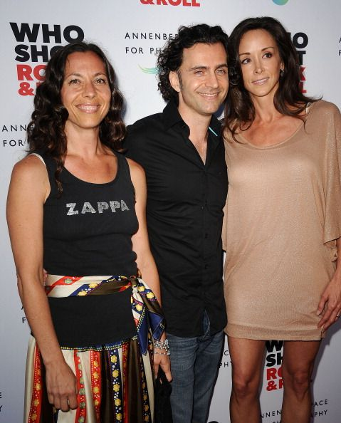 Moon Zappa, Dweezil Zappa and Megan Marsicano