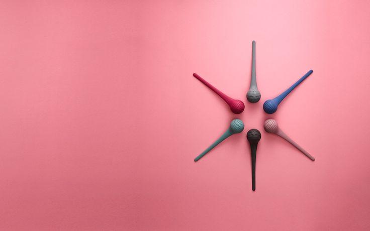Boule à thé rose, Normann Copenhagen #design #tea #decoration #pink #instantdetente #table #artdelatable #tableart