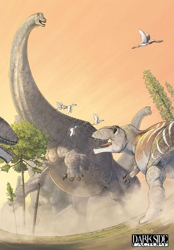 I Titani ( #Argentinosaurus Vs #Giganotosaurus ) by Kronosaurus82.deviantart.com…