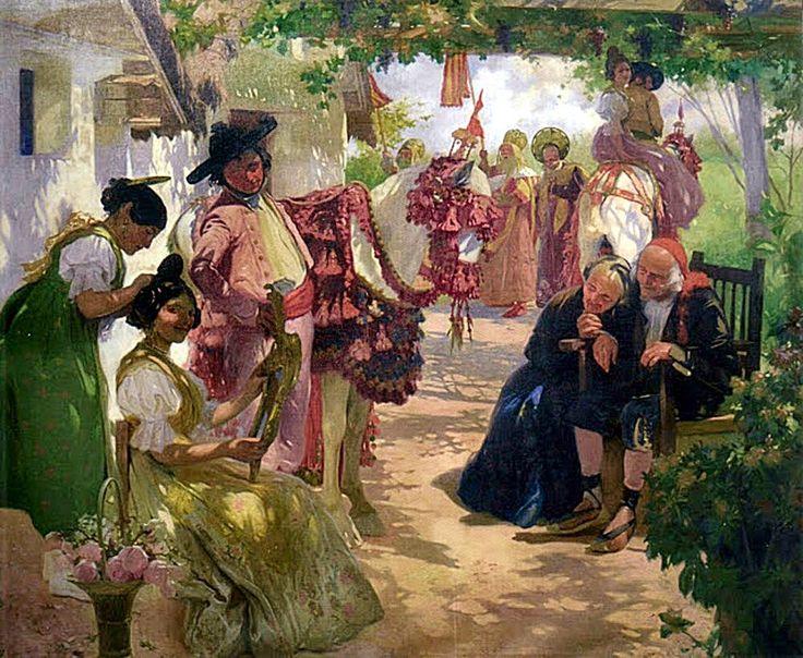 220 mejores im genes sobre pintura costumbrista valenciana - Pintor valenciano ...