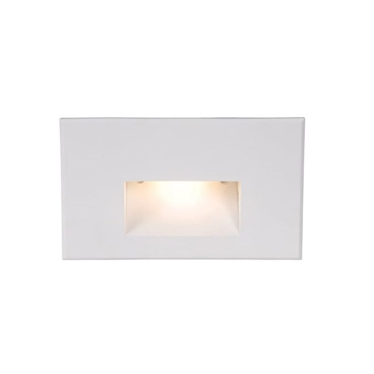 12v Horizontal Scoop Outdoor Wall Step Light By Wac Lighting 4011 27wt Step Lighting Wac Lighting Led Deck Lighting