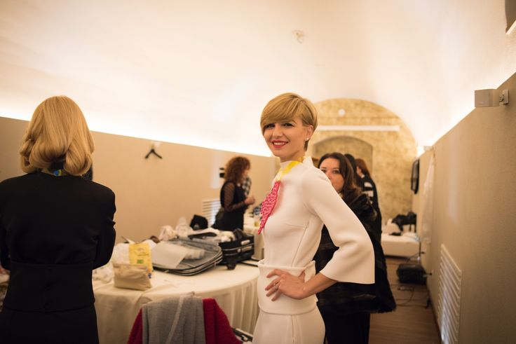 #Picture from Back Stage Happy Hour 2016  #hair #hairdesign #cut #color #parrucchieri #style #tendenzecapelli #capelli #giusydonghia