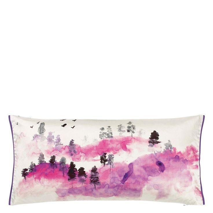 Huangshan Lilac Cushion | Designers Guild