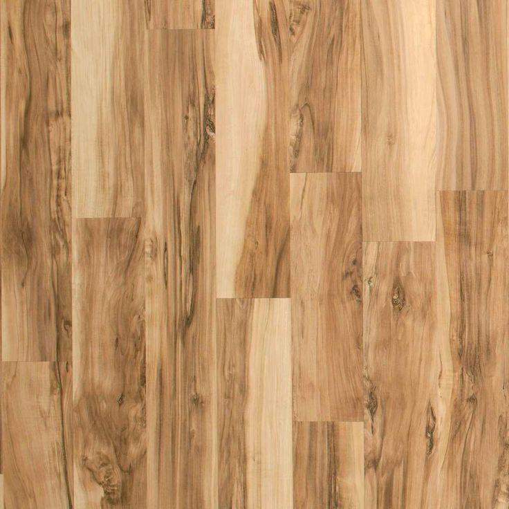 Hampton bay brilliant maple living room pinterest for Maple laminate flooring