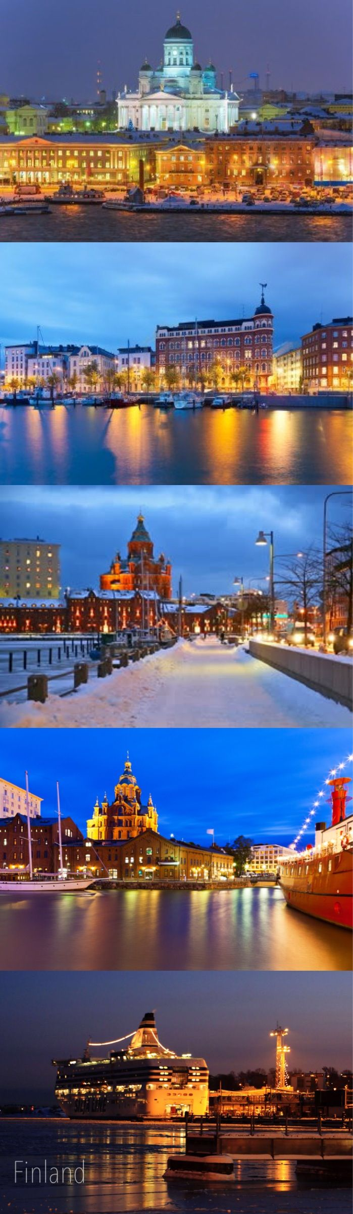 Helsinki, Finland is one of my absolute favorite cities, especially in the winter!