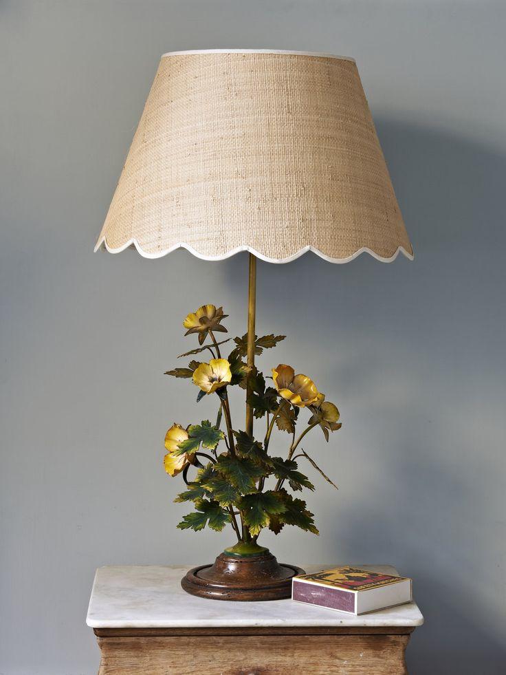 RAFFIA SCALLOP LAMPSHADE - LARGE  — Matilda Goad