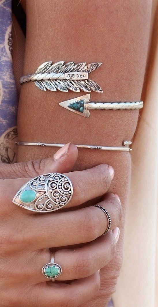 ≫∙∙ boho, feathers + gypsy spirit ∙∙≪ http://donbiu.com/products/sterling-silver-natural-turquoise-ring-hand-granulated-solid-925-sterling-silver-gemstone-ring-bohemian-style-ring-gypsy-cocktail-ring?utm_content=buffer061ec&utm_medium=social&utm_source=pinterest.com&utm_campaign=buffer