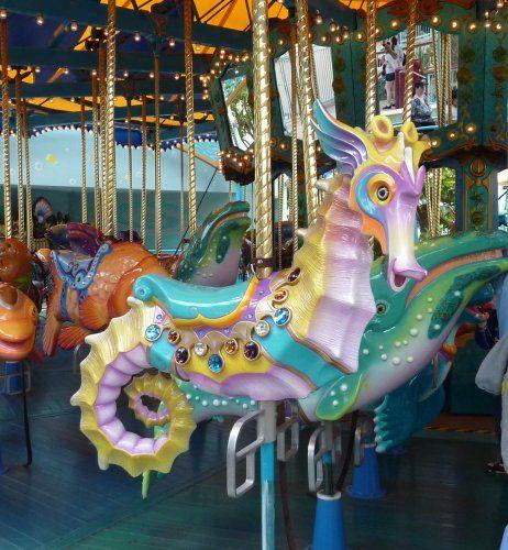 sea horse: Sea Horses, Carousels Animal, Carousels Creatures, Seahorses,  Merry-Go-Round, Carousels Hors, Carousels Seahor,  Roundabout, Carousel