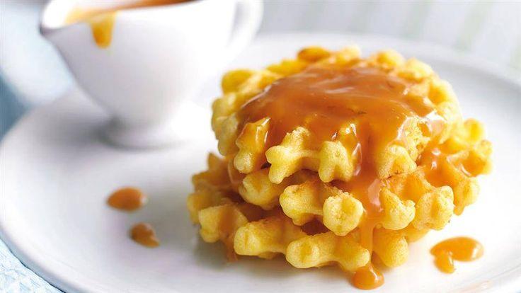 Szukasz przepisu na gofry? Wejdź na Kuchnię Lidla i wypróbuj przepis na gofry na maślance z sosem z limonki i karmelu!