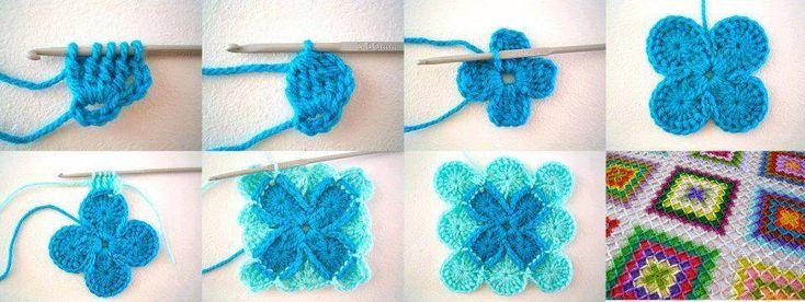 Achei estas imagens no Facebook Anna Crochet Hungari