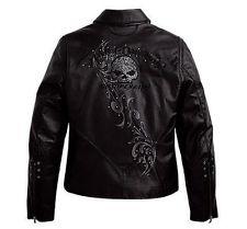 Harley Davidson Limited Willie G Wicked Leather Jacket 97123 09VW Size L   eBay
