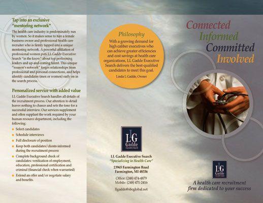 recruitment brochure template - 35 best employment agencies company brochures images on