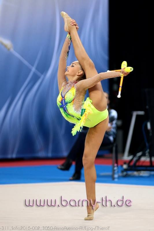 Arina Averina (Russia), World Cup (Sofia) 2015