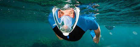 EASYBREATH snorkeling mask | Tribord