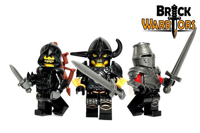 Custom LEGO Armor Spotlight - Bladed Vambraces #LEGO #BrickWarriors #Minifigure #Vambraces #LEGOaccessories #MinifigureAccessories