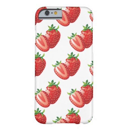Strawberrys Barely There iPhone 6 Case