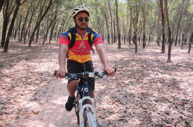 Nam Cat Tien National Park Cycling Tour from Ho Chi Minh City Nam Cat Tien National Park is becoming more and more of an attracting site for tourists. Located approximately 150 km (approx. 93m) away from Ho Chi Minh City, the forest has an area of about 720 km² (approx. 447 sqm) and protects one of the largest areas of lowland tropical rain-forests left in Vietnam. The park is home to Asian Elephants, Sun Bears, Gaur and many smaller mammals, including Yellow-cheeked ...