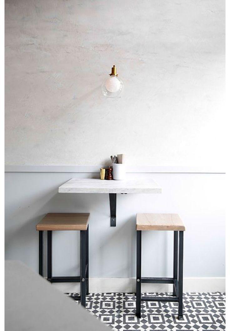 Leuk voor in de keuken: een bartafel
