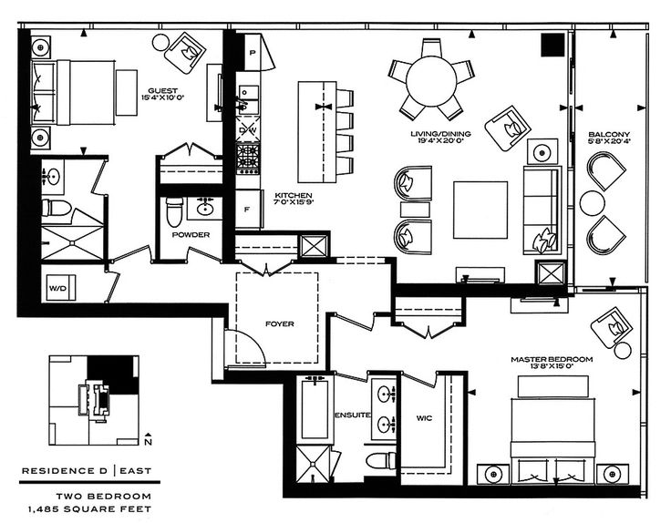 1000+ Ideas About Condo Floor Plans On Pinterest