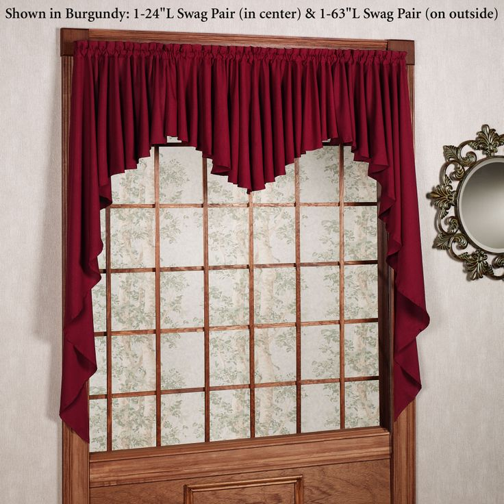 Best images about swags valances on pinterest