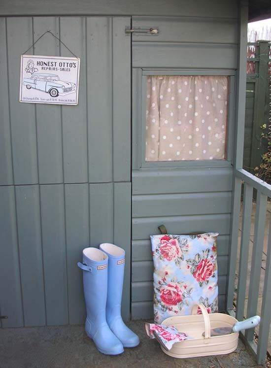 Garden Shed colour - Cuprinol Garden Shades - Silver Birch