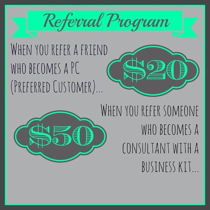 I have big goals for my new business!! Help me grow my business with your referrals and I will thank you with CASH! Email me at: janettepeacock@yahoo.com