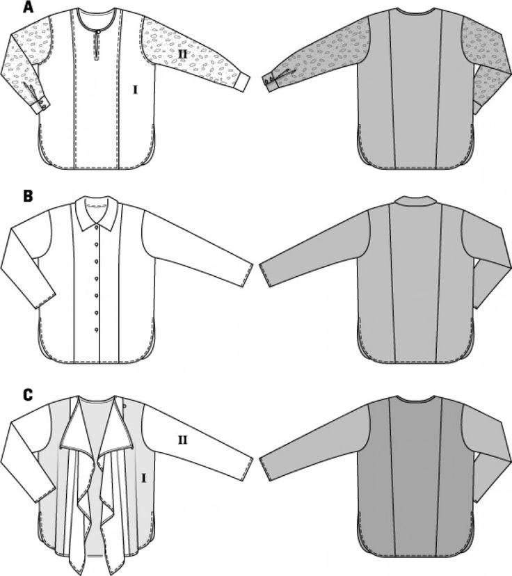Burda 6787 : princess for easy neckline change, add yokes