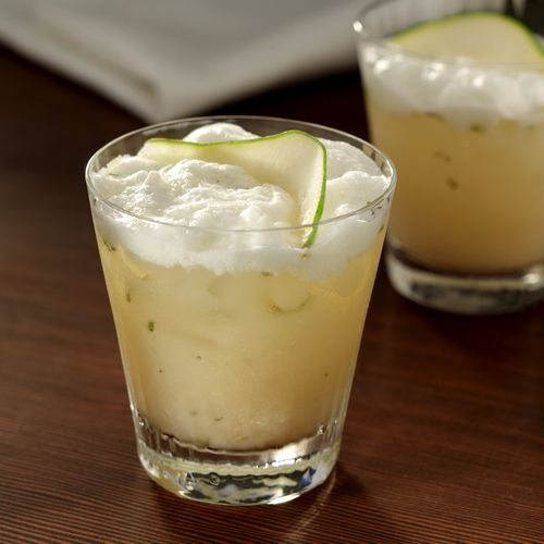 Pear Cardamom Flip Cocktail