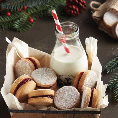 Biscuits doubles à la confiture - Châtelaine