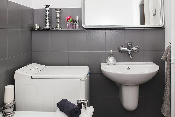 UPSTYLE YOUR HOME. Spektakularna metamorfoza łazienki za mniej niż 500 PLN. // Amazing makeover of a bathroom.//