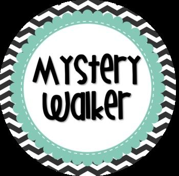 I am so excited to try this during the upcoming school year!  I've seen this idea on Pinterest and I decided to create a Mystery Walker sign to use in my classroom.  Enjoy!