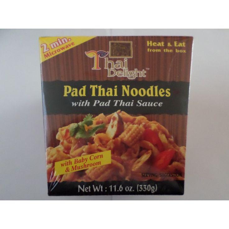 Pad Thai Noodles met Pad Thai saus - Kant en klaar - 2 minuten in de magnetron en klaar
