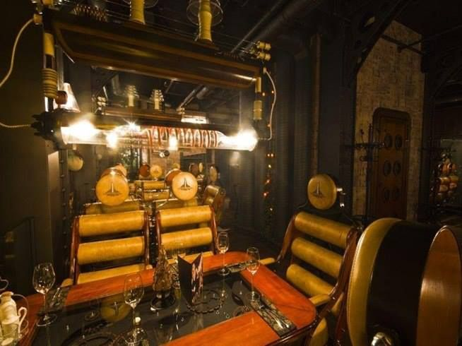 een steampunk interieur salon in 2018 pinterest steampunk steampunk design and steampunk fashion